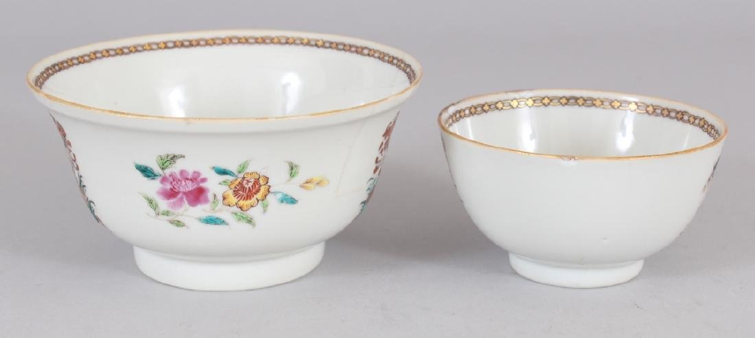 AN 18TH CENTURY CHINESE ARMORIAL PORCELAIN BOWL, - 2