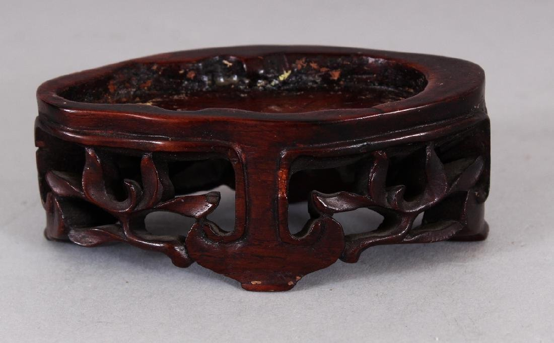 A SMALL 20TH CENTURY CHINESE AGATE MODEL OF AN - 4