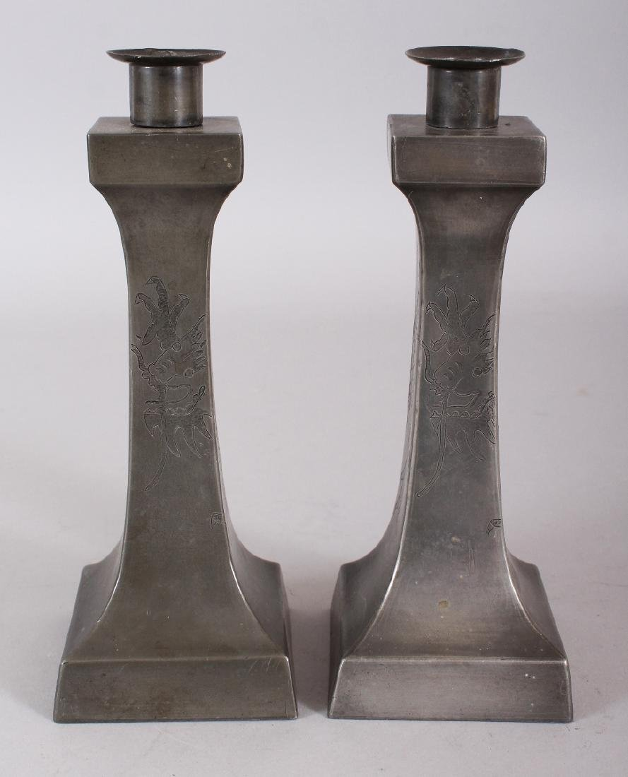 A PAIR OF EARLY 20TH CENTURY CHINESE ART DECO STYLE