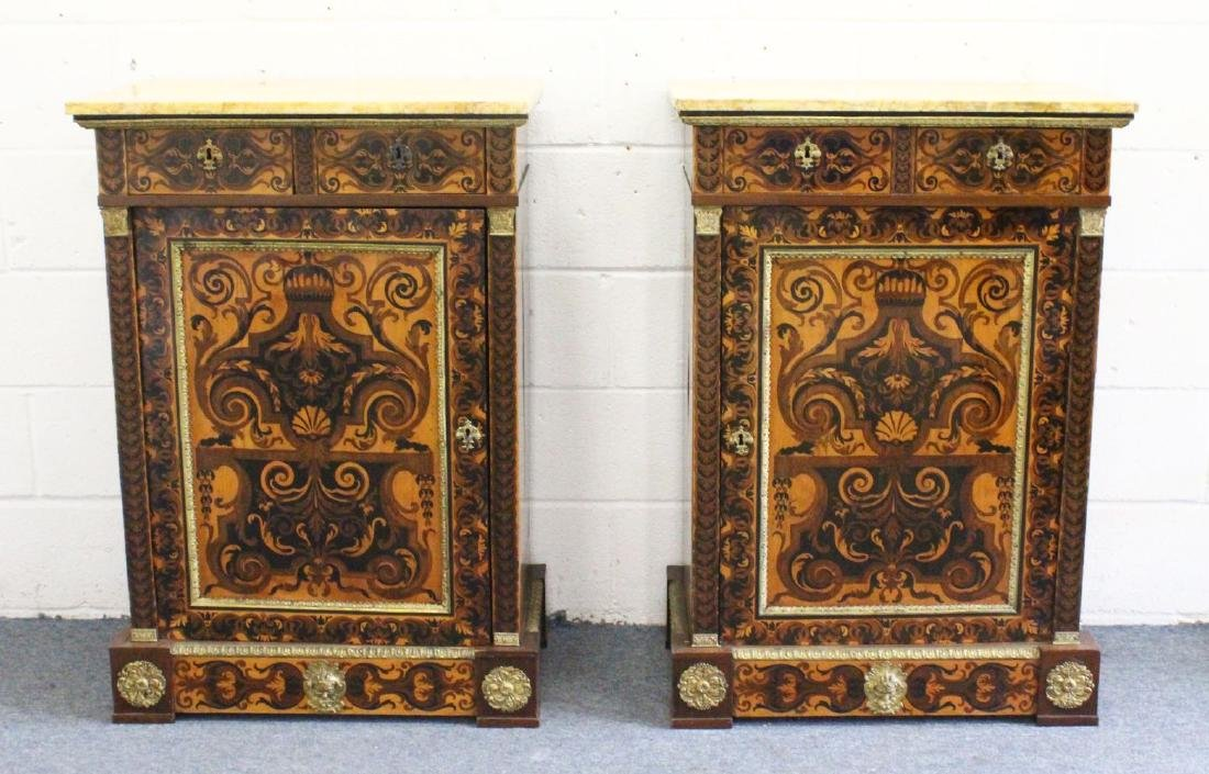 A VERY GOOD PAIR OF 18TH CENTURY, POSSIBLY ITALIAN,
