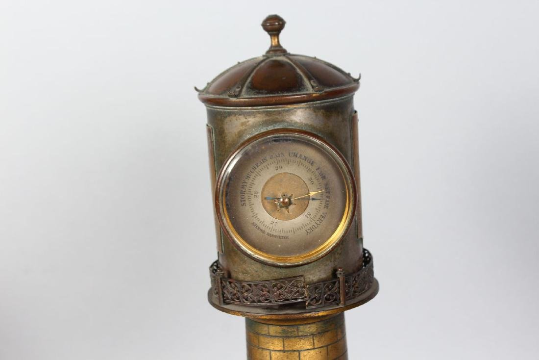AN UNUSUAL 19TH CENTURY CLOCK IN THE FORM OF A - 3