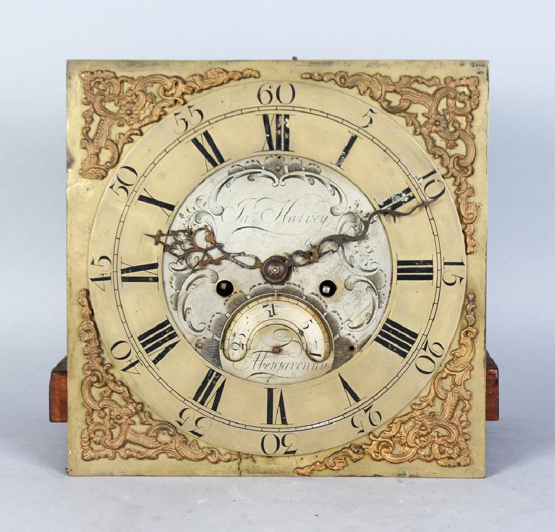 AN 18TH CENTURY 11-INCH DIAL CLOCK MOVEMENT by JAMES