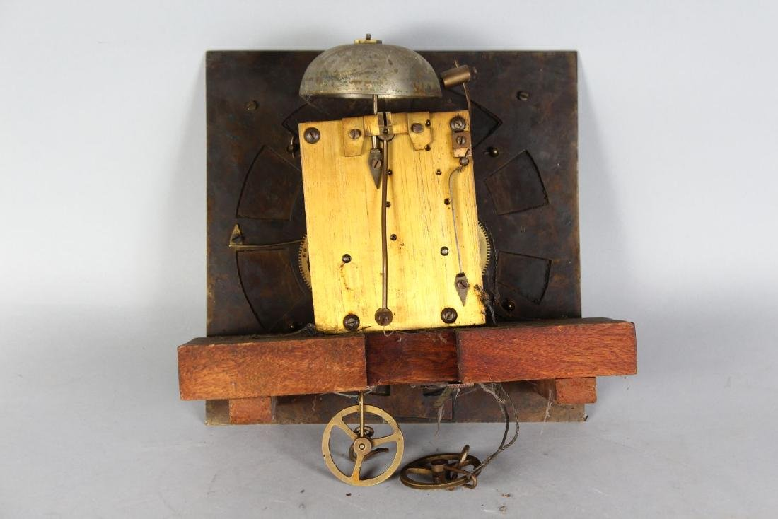 AN 18TH CENTURY 11-INCH DIAL CLOCK MOVEMENT by JAMES - 2