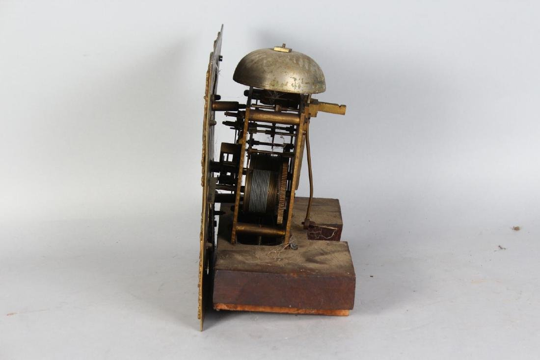 AN 18TH CENTURY 11-INCH DIAL CLOCK MOVEMENT by JAMES - 3