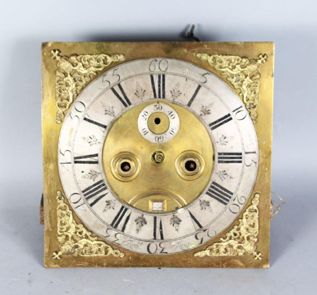 AN 18TH CENTURY 12-INCH DIAL CLOCK MOVEMENT by ROBERT
