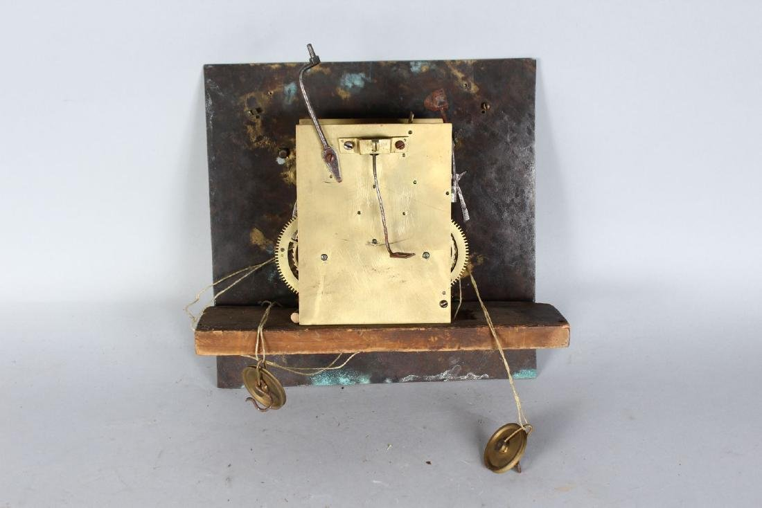 AN 18TH CENTURY 12-INCH DIAL CLOCK MOVEMENT by ROBERT - 2
