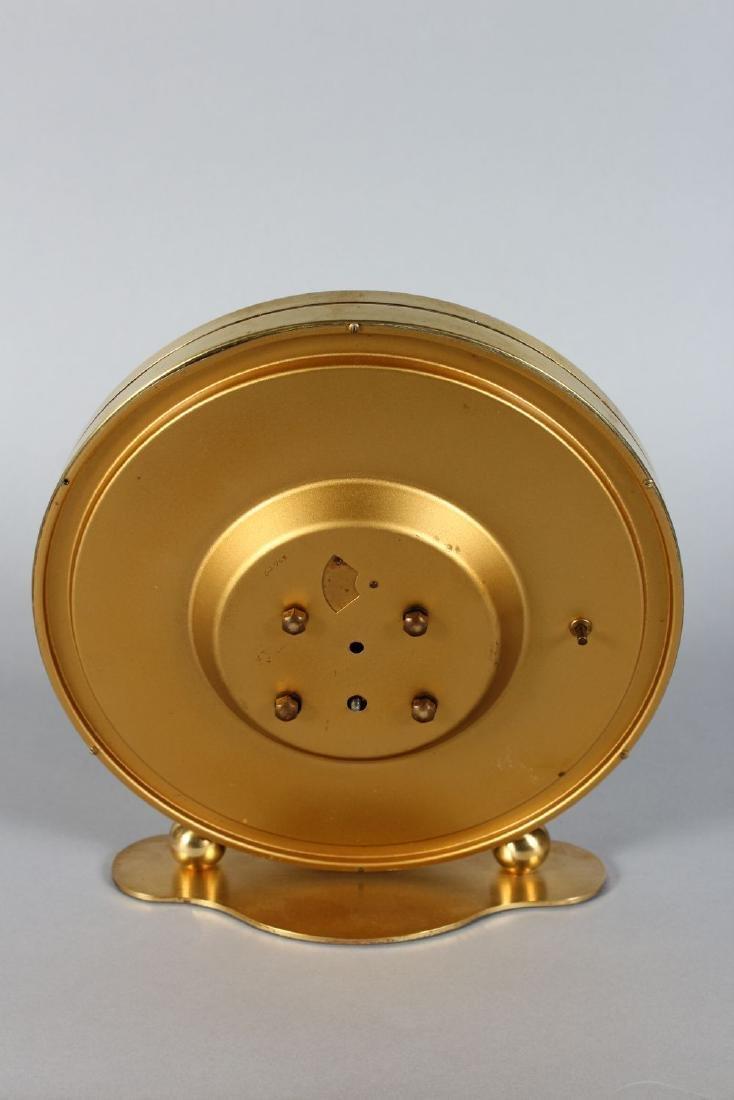 A KUNDO CIRCULAR CLOCK OF THE WORLD.  9ins diameter. - 2