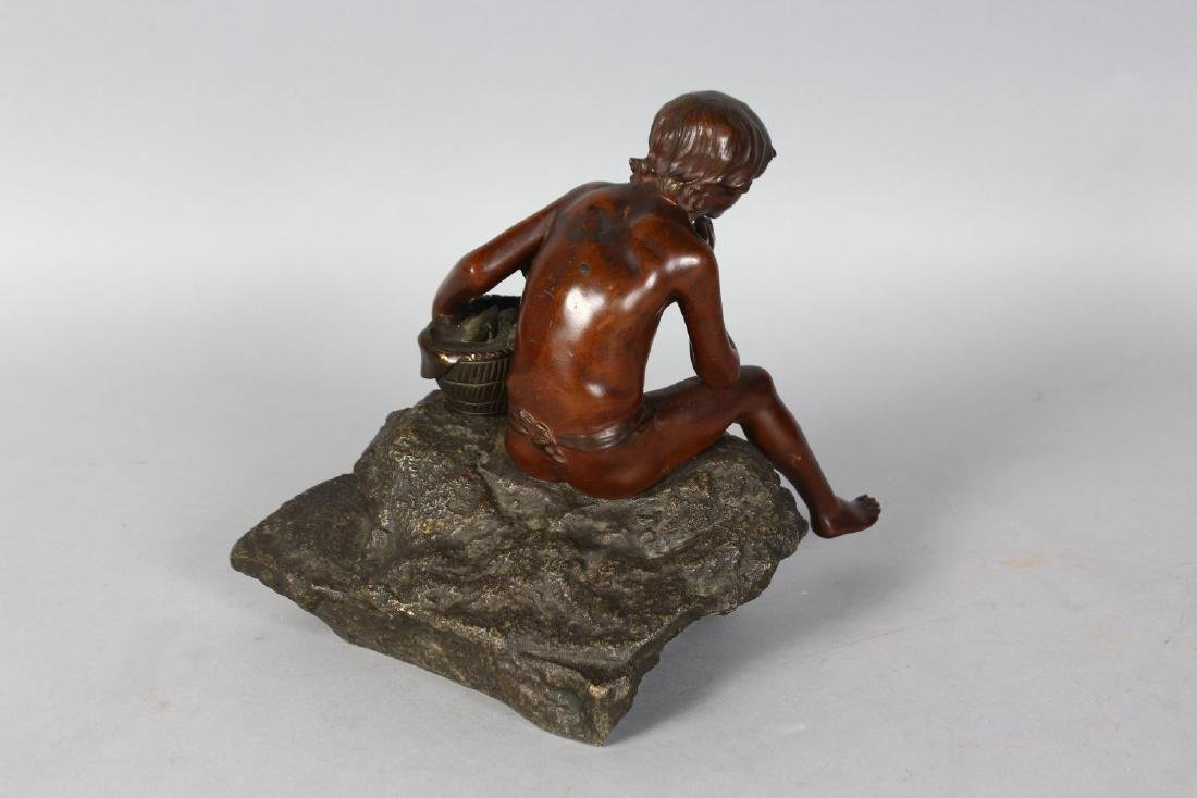 PAUL DEMANGE (19TH CENTURY)  A GOOD SMALL BRONZE OF A - 2