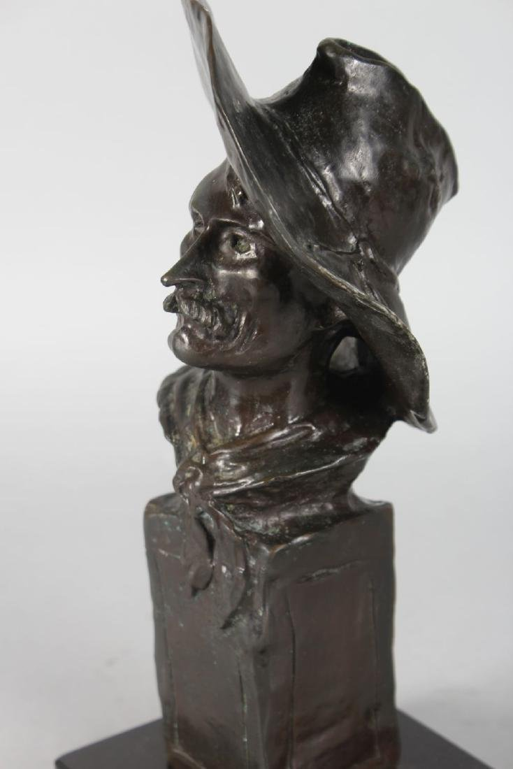 """AFTER FREDERIC REMMINGTON  THE """"SERGEANT"""".  A BRONZE - 3"""
