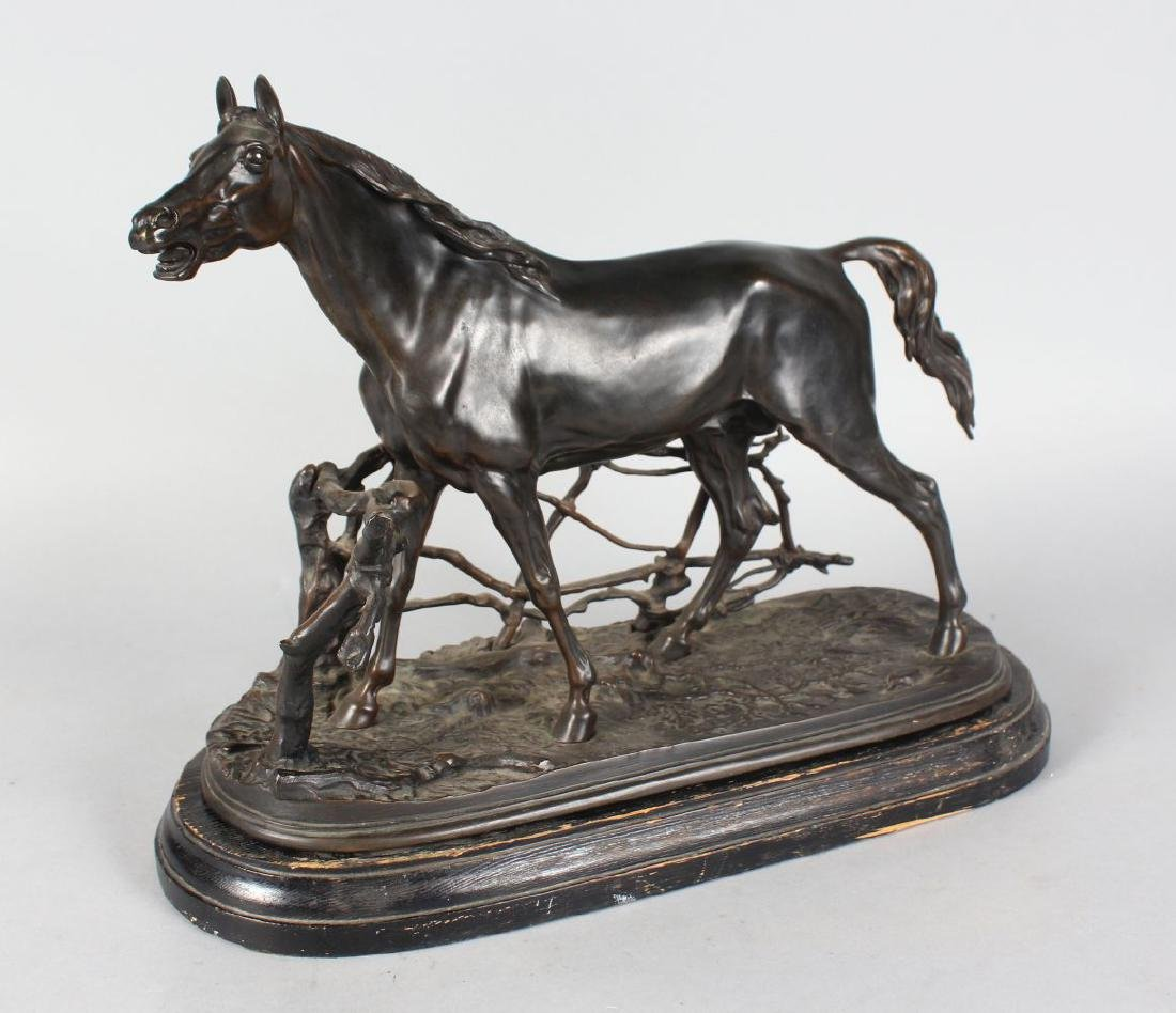 PIERRE JULES MENE (1810-1877) FRENCH  CHEVAL A LA - 2
