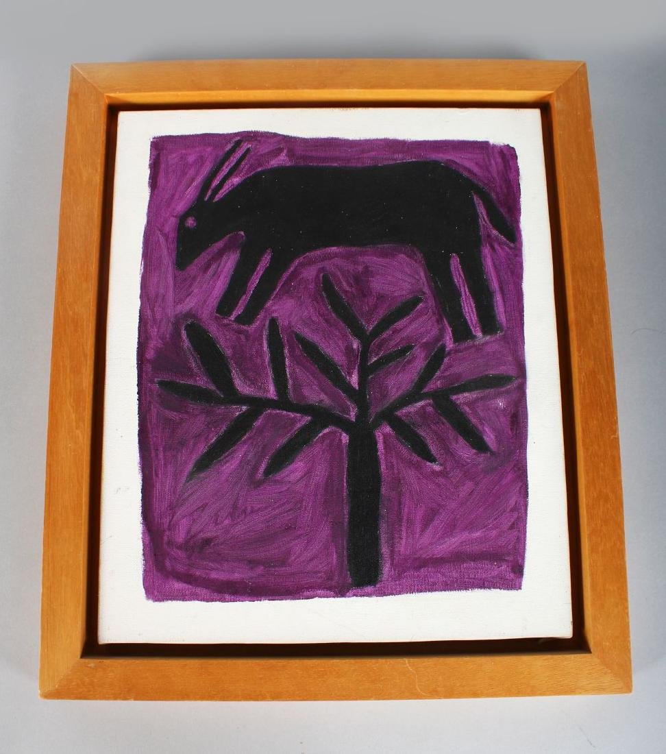 TUOI STEFAANS SAMCUIA (Born 1950) NAMIBIA  AFRICAN ART.