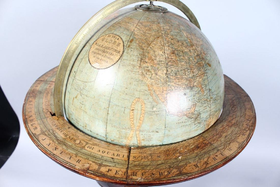A GOOD 19TH CENTURY TABLE GLOBE BY W. & A.K. JOHNSTON, - 3