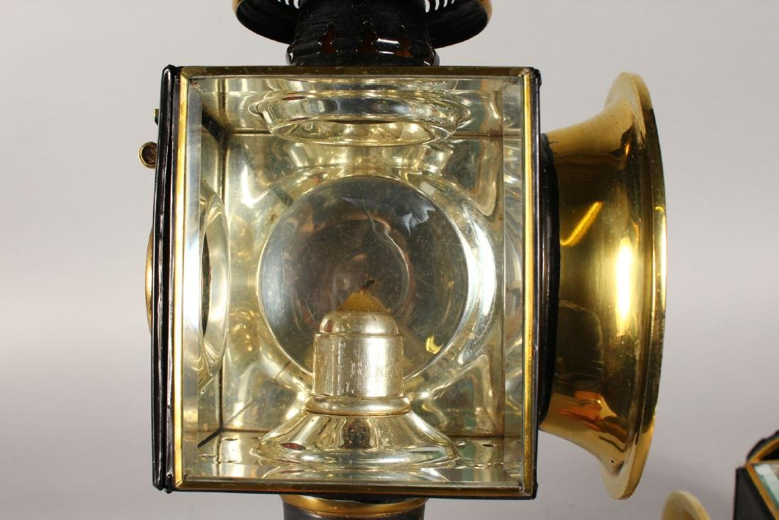 A GOOD PAIR OF COACHING LAMPS by Baker, Sunnybrook - 2