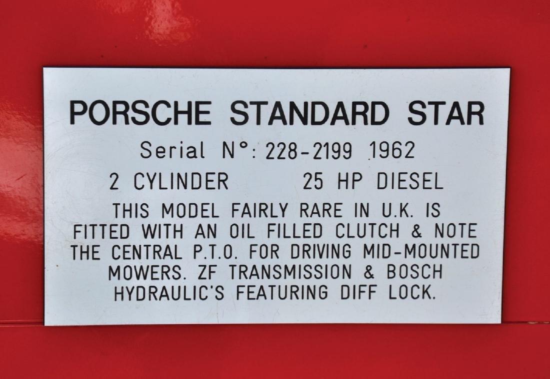 A 1962 PORSCHE RED STANDARD STAR 2 CYLINDER DIESEL - 6