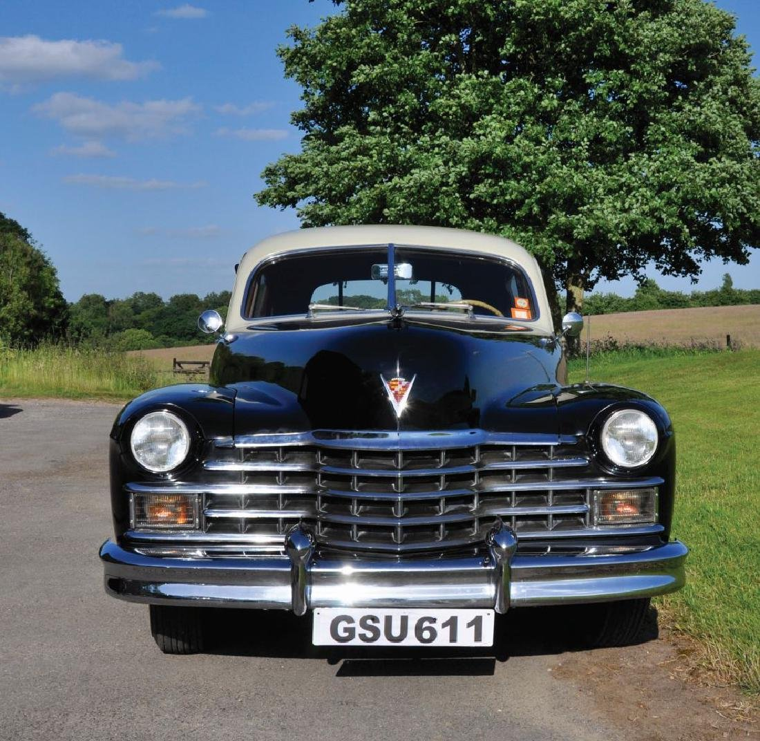 A 1947 CADILLAC FOUR DOOR SEDAN SERIES 62, Reg No. GSU - 2