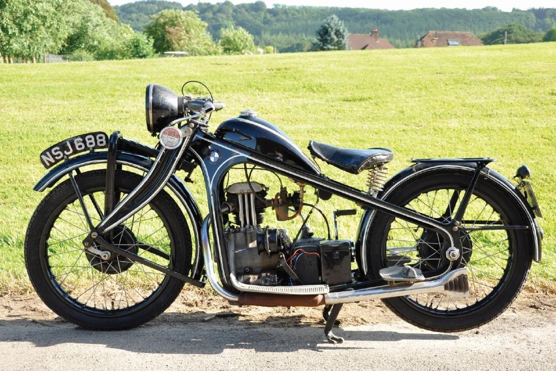 A 1931 BMW TYPE R2 MOTORCYCLE, 198cc, Reg No. NSJ 688,