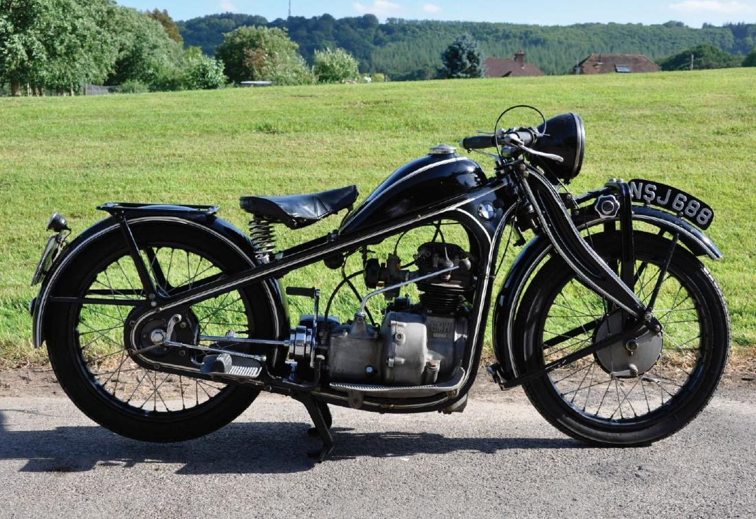A 1931 BMW TYPE R2 MOTORCYCLE, 198cc, Reg No. NSJ 688, - 3