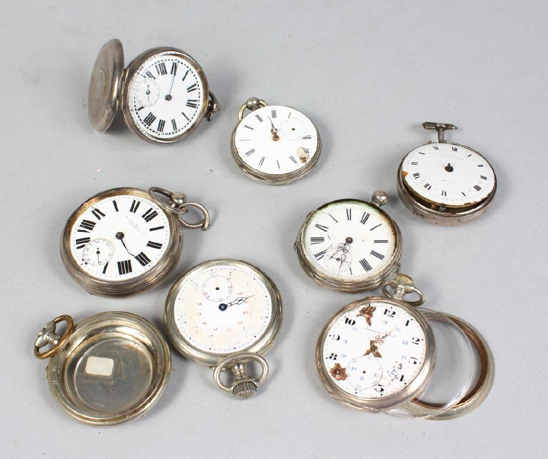 SEVEN VARIOUS POCKET WATCHES (for repair).