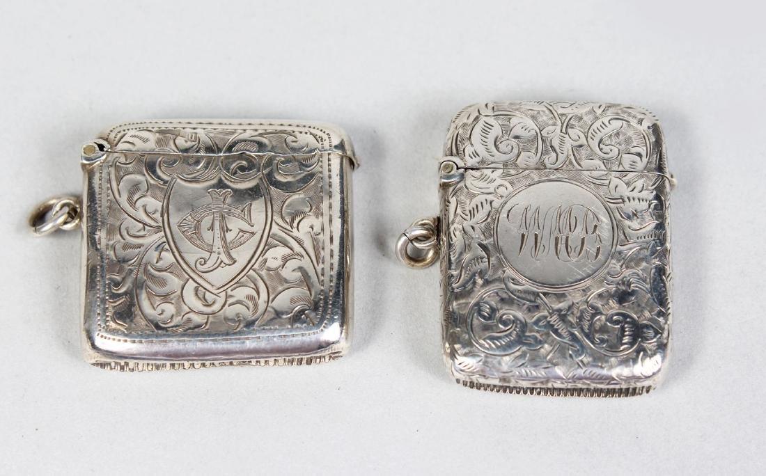 TWO VESTA CASES.  Birmingham 1915 and 1919.