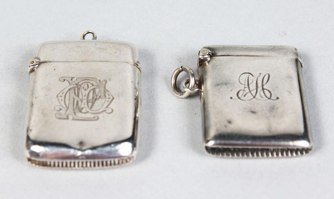 TWO VESTA CASES.  Birmingham 1913 and 1897.