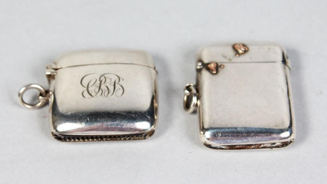 TWO VESTA CASES.  Chester 1904 and 1903.