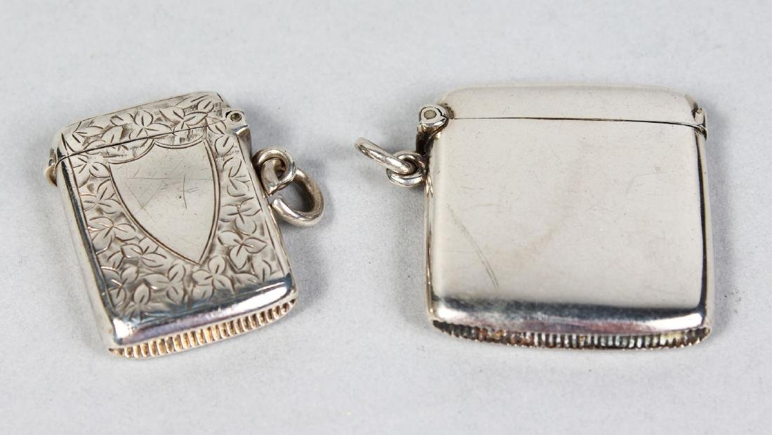 TWO VESTA CASES.  Birmingham 1899 and Chester 1911.