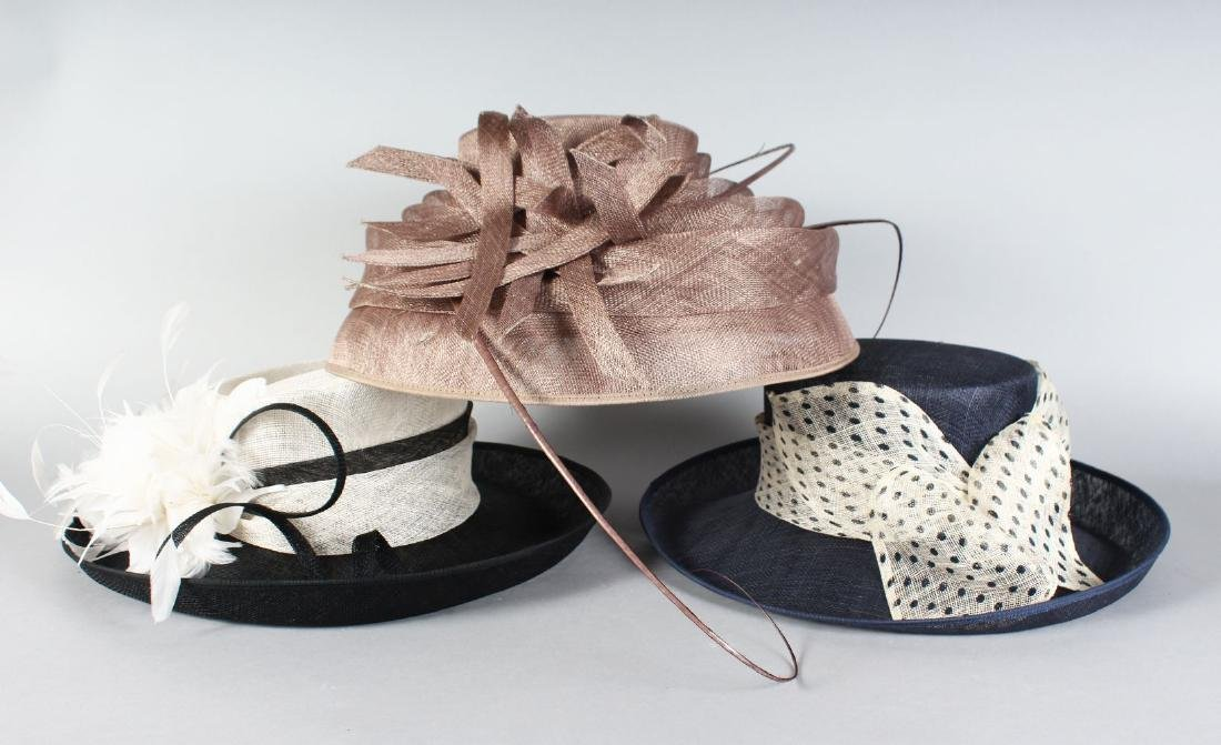 THREE LADIES' HATS from JOHN LEWIS.
