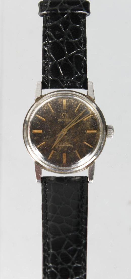 A VINTAGE OMEGA SEAMASTER WATCH with sweep second hand