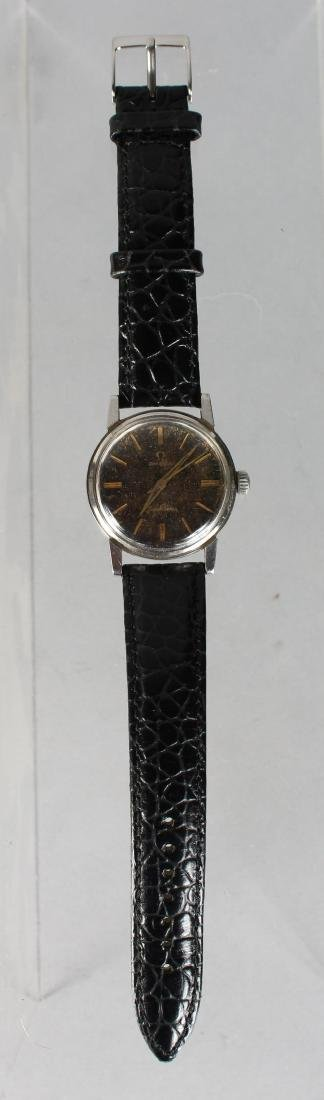 A VINTAGE OMEGA SEAMASTER WATCH with sweep second hand - 2