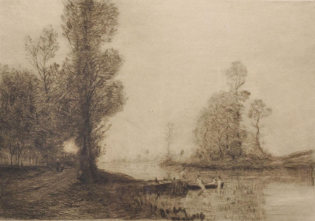 Robert Weir Allan (1852-1942) British. A River
