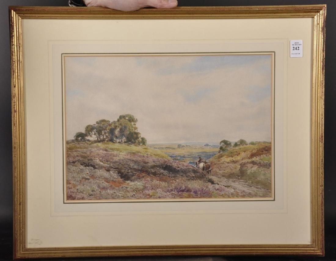 Claude Hayes (1852-1922) British. 'Extensive Landscape - 2