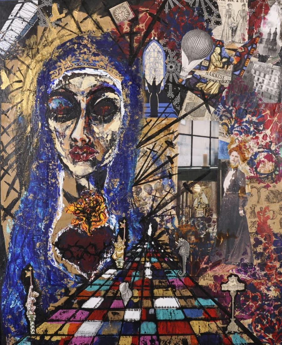 Grace Morgan (20th-21st Century) British. An Abstract