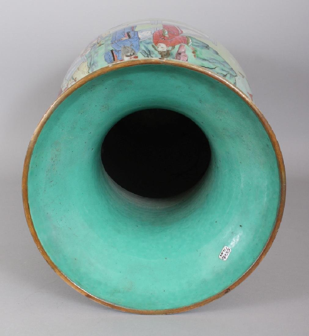 A LARGE GOOD QUALITY 19TH CENTURY CHINESE CANTON - 6