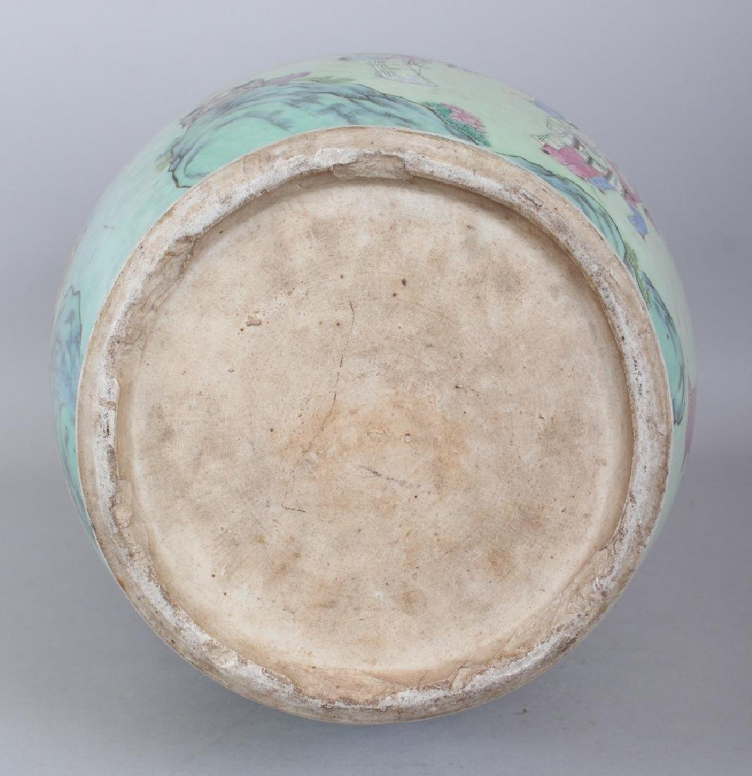 A LARGE GOOD QUALITY 19TH CENTURY CHINESE CANTON - 7