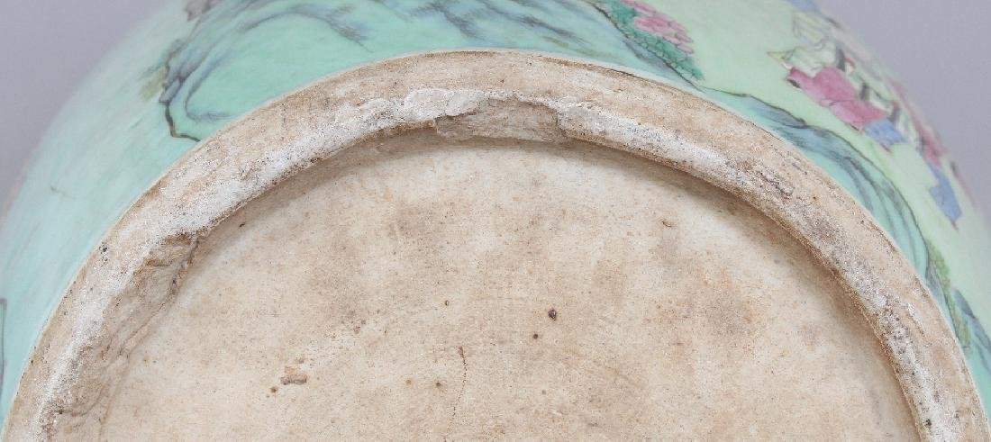 A LARGE GOOD QUALITY 19TH CENTURY CHINESE CANTON - 8