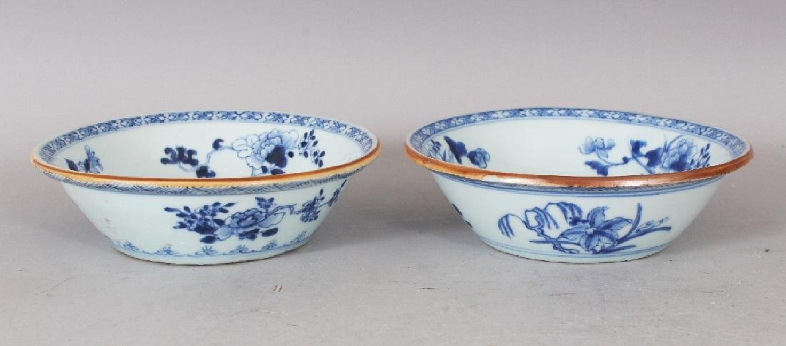 A PAIR OF EARLY 20TH CENTURY CHINESE BLUE & WHITE - 4