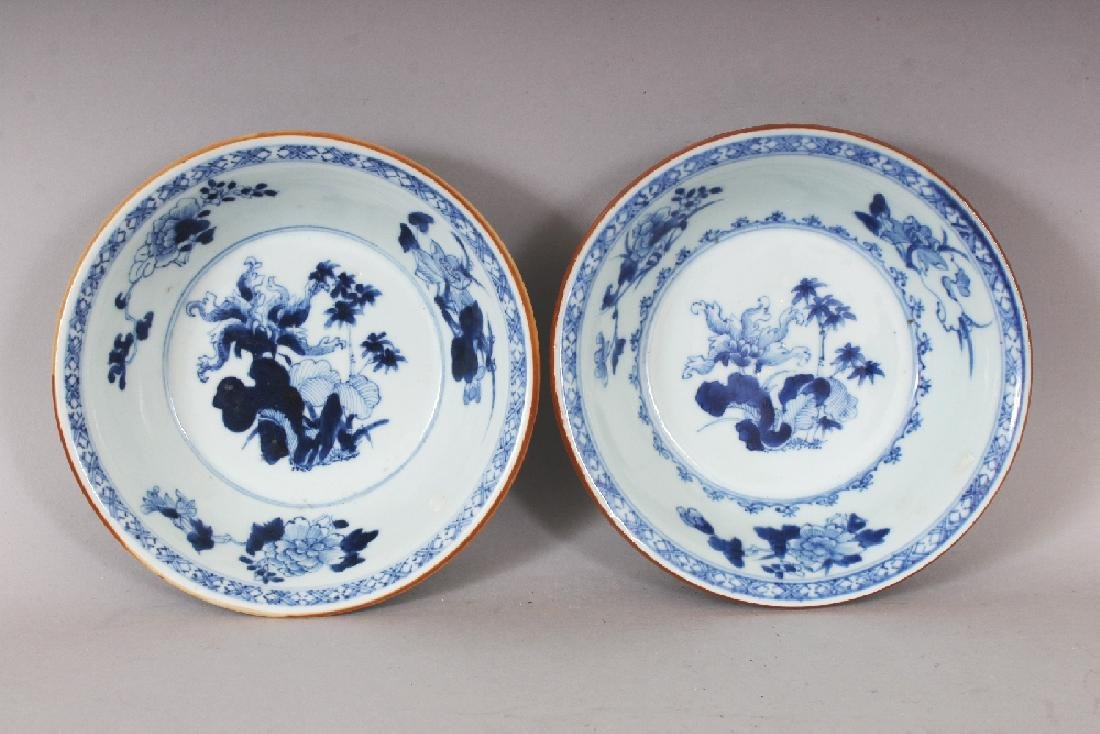 A PAIR OF EARLY 20TH CENTURY CHINESE BLUE & WHITE - 5