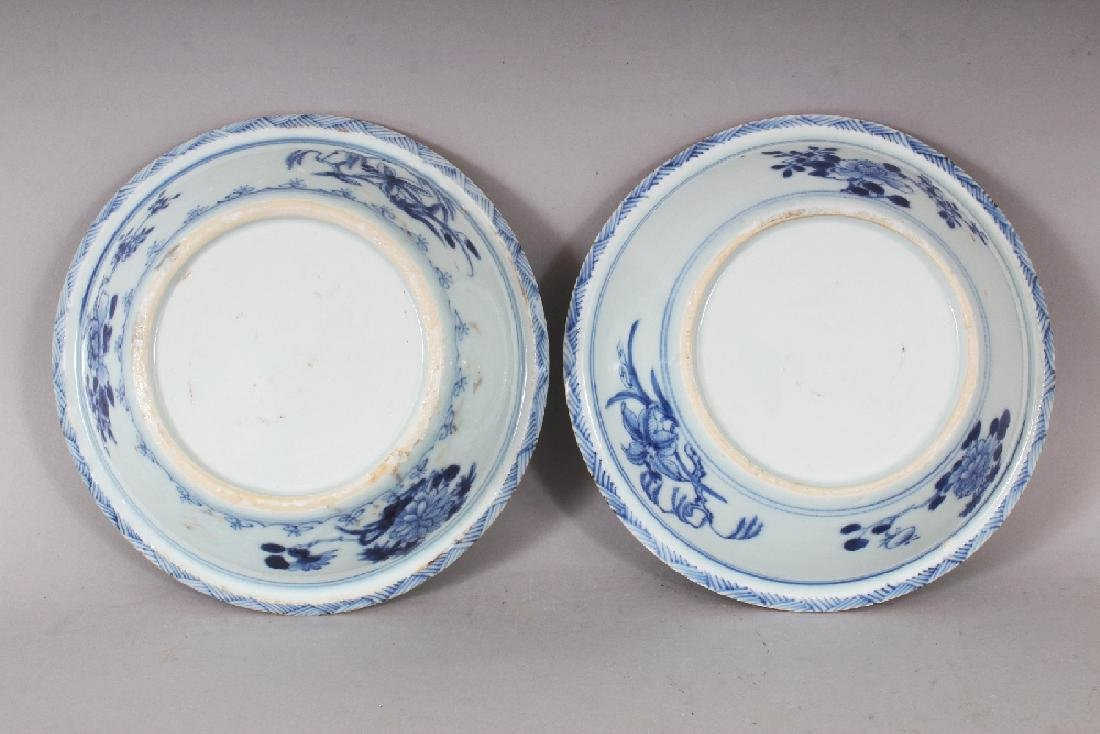 A PAIR OF EARLY 20TH CENTURY CHINESE BLUE & WHITE - 8