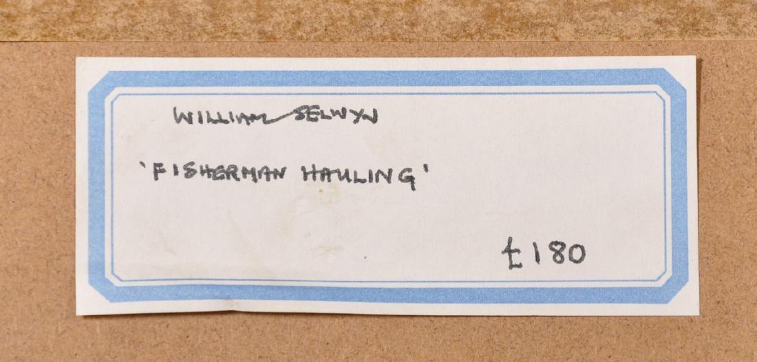 "William Selwyn (1933-    ) British. ""Fisherman - 4"