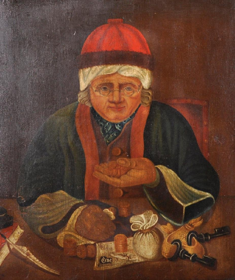 19th Century English School. A Study of an Old Lady