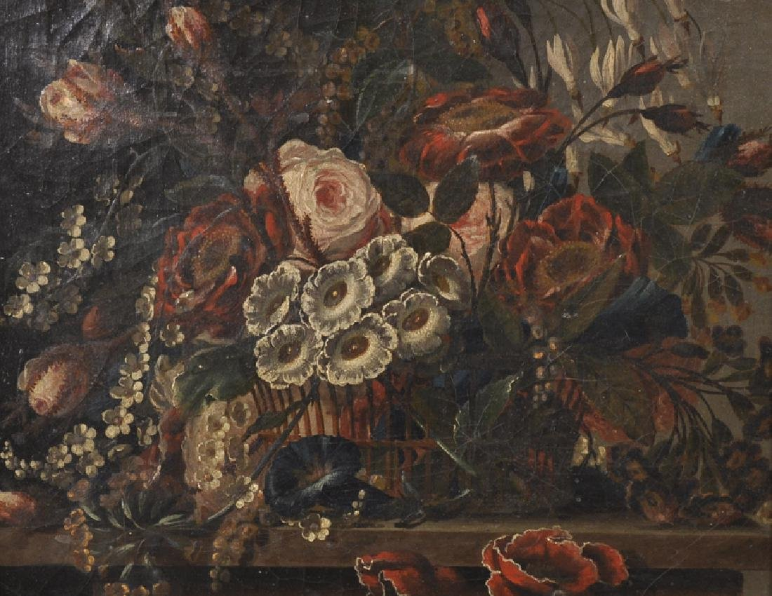 19th Century Dutch School. Still Life of Flowers in a