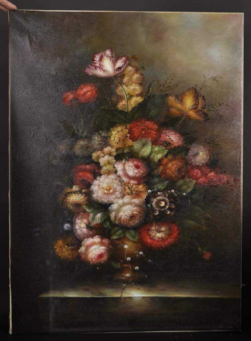 20th Century Dutch School Style. Still Life of Flowers