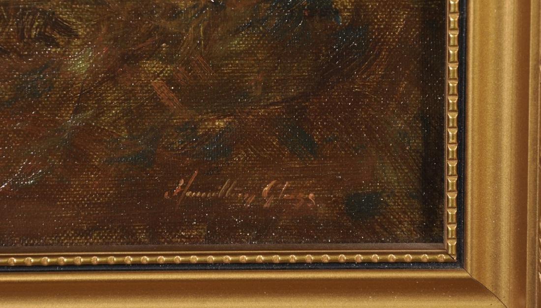 """John Hamilton Glass (1820-1885) British. """"Moonlight on - 3"""