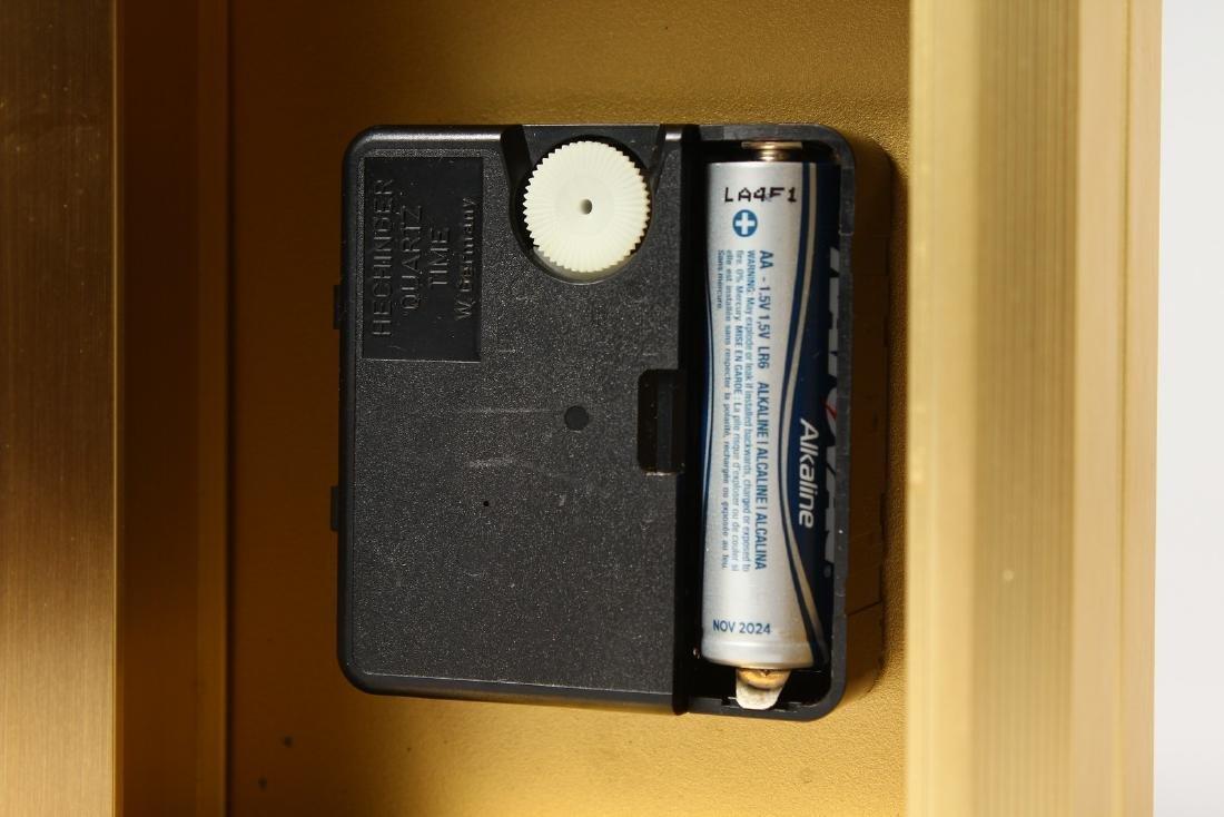 A TIFFANY & CO QUARTZ MANTLE CLOCK.  5ins high. - 5