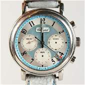 A CHOPARD CHRONOGRAPH WRISTWATCH, signed to the case