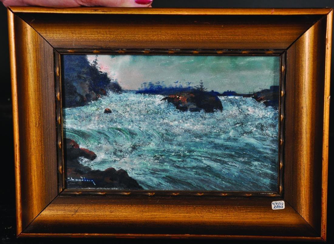 H...Luneberg (20th Century) Continental. Water Rapids, - 4