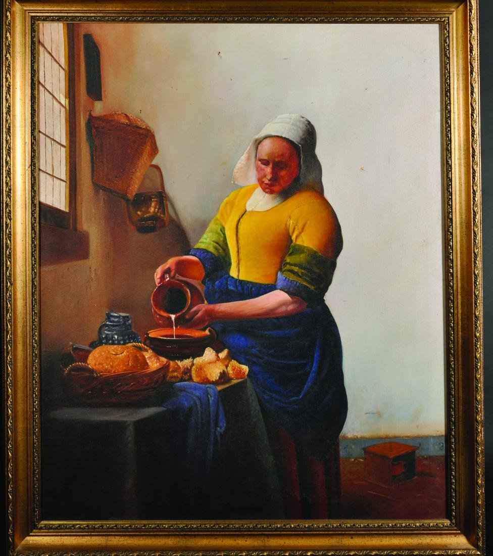 "After Johannes Vermeer (1632-1675) Dutch. ""The - 3"