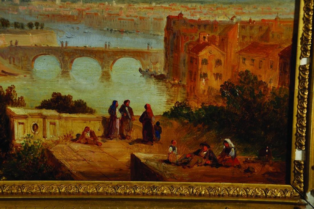 Circle of Edward Lear (1812-1888) British. 'Castel - 2