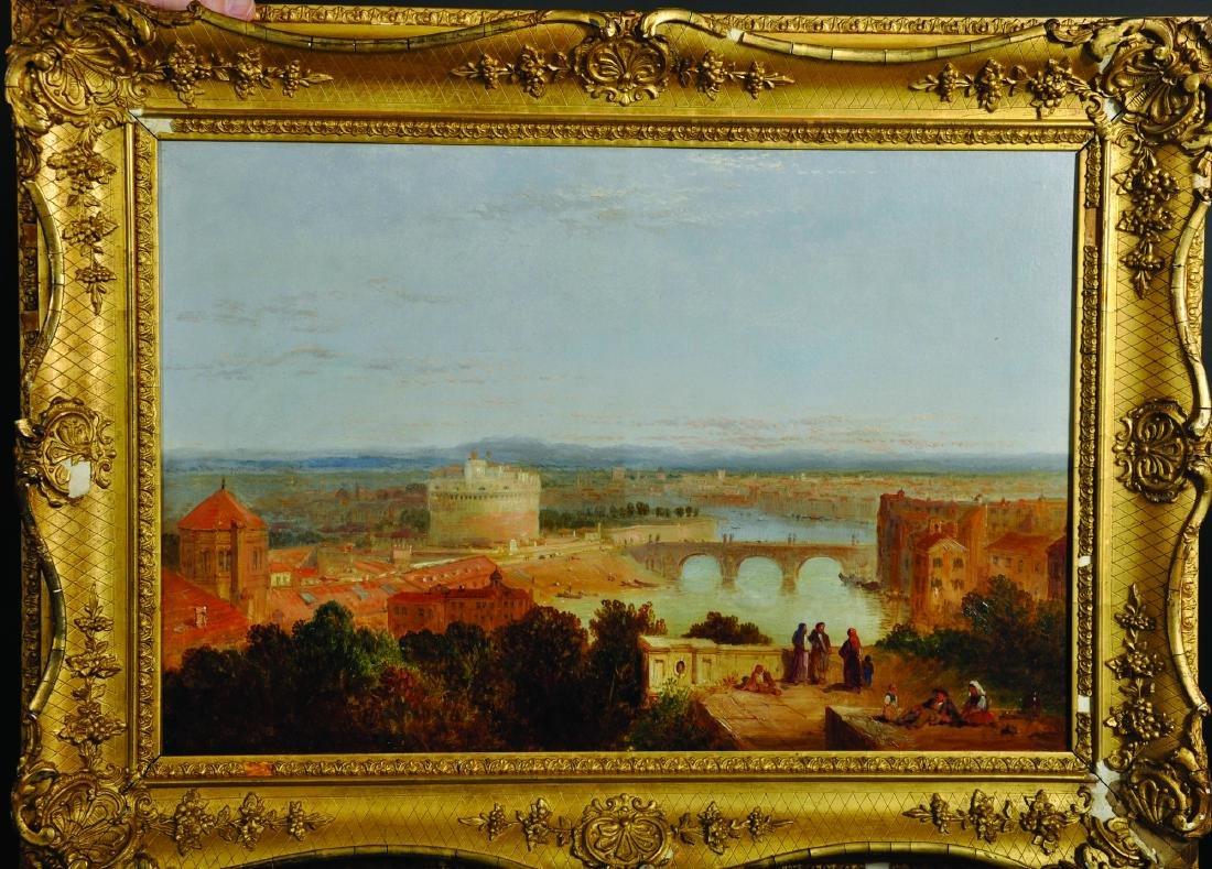 Circle of Edward Lear (1812-1888) British. 'Castel - 4