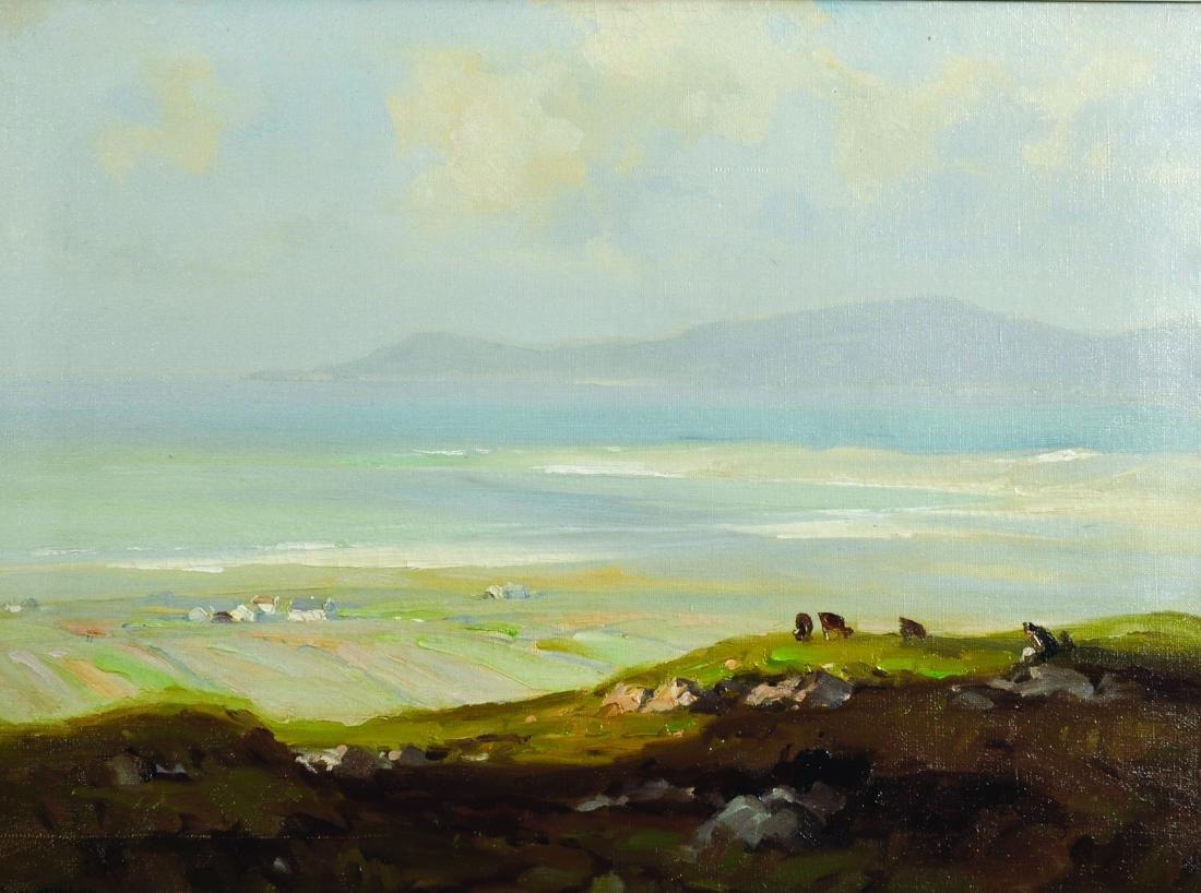 "Frank McKelvey (1895-1974) Irish. ""Th Bloody Foreland,"